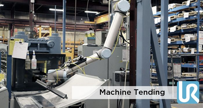 Machine Tending - Injection Molding Machines - CNC with Universal Robots