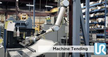 Machine Tending  Injection Molding Machines  CNC with Universal Robots