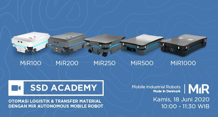 SSD Academy - Mobile Industrial Robots